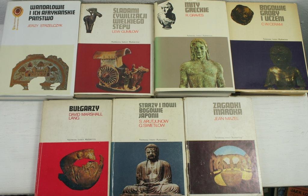 Seria Ceramowska x 7 książek