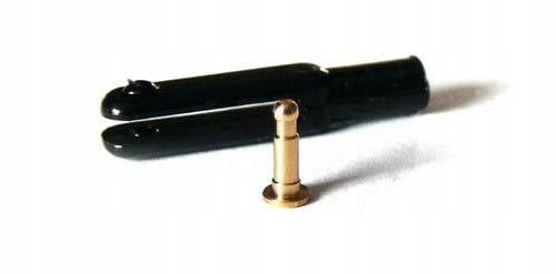 Snap plastikowy 23mm 1,6 M2, Czarny, 2szt