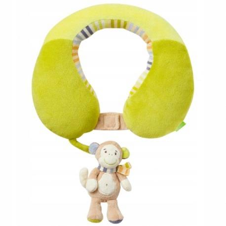 Zagłówek podróżny, małpka, z kolekcji: małpka i os