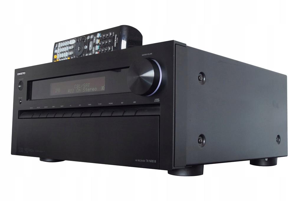 Amplituner 9.2 Onkyo TX-NR818 HDMI NET Myślenice