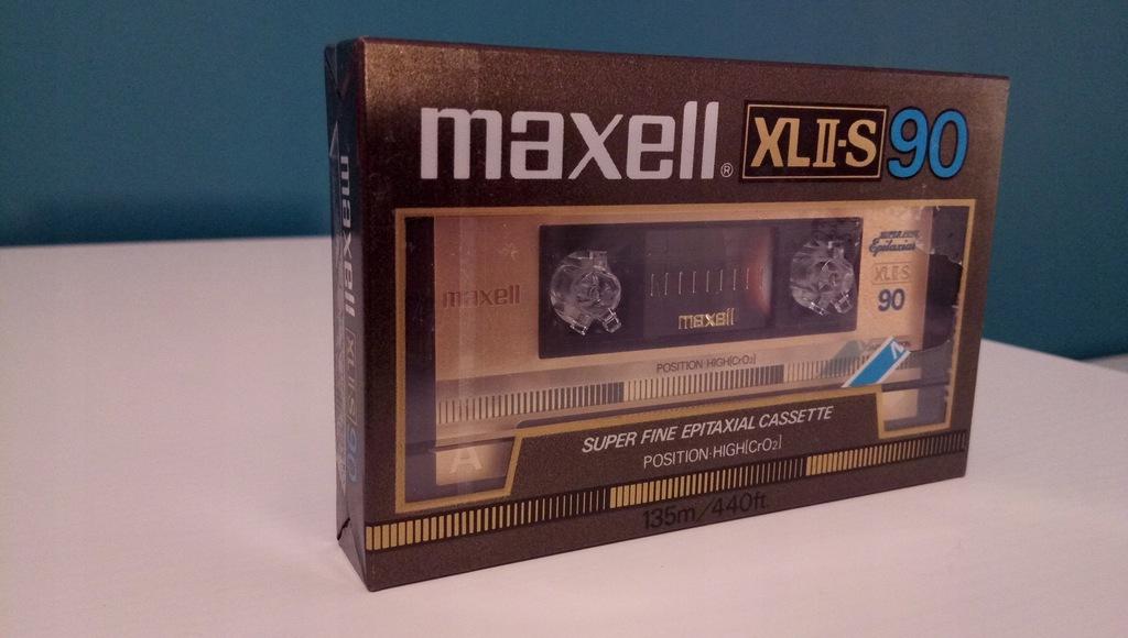 Kaseta MAXELL XLII-S 90 1984r
