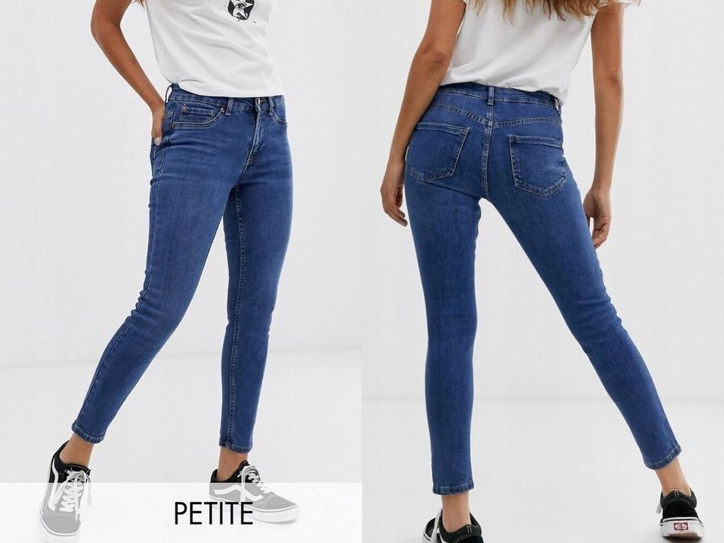 New Look Petite Jeansy Damskie Rurki XS/34