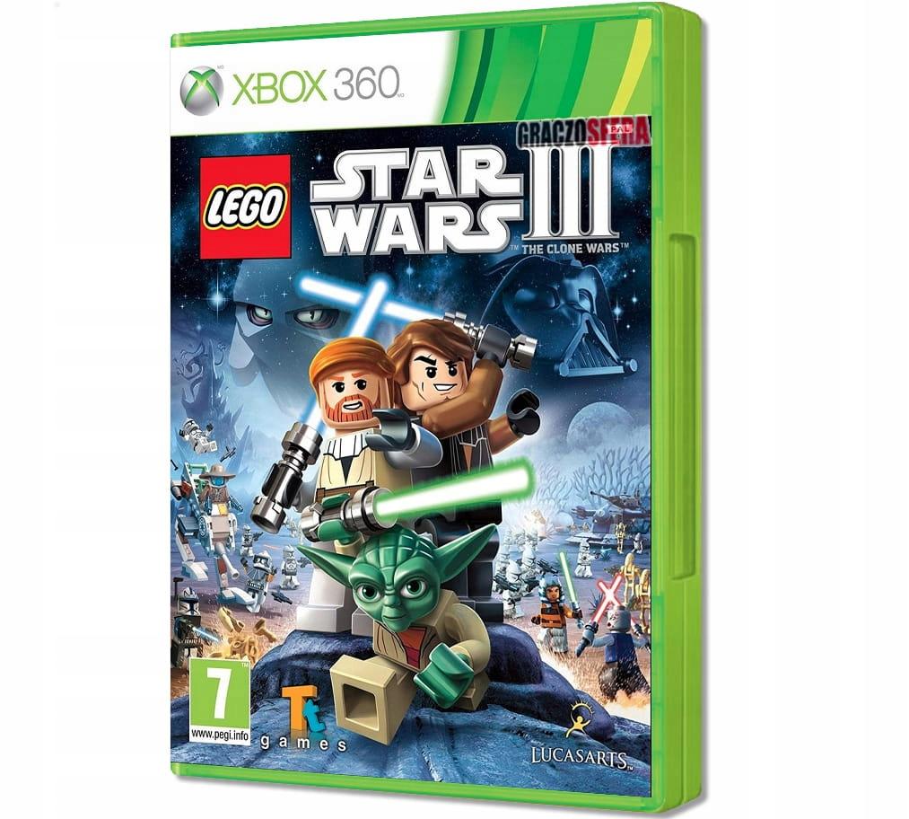 LEGO Star Wars III The Clone Wars XBOX 360