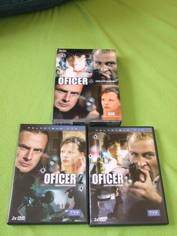 Seriale Oficer i Oficerowie na DVD