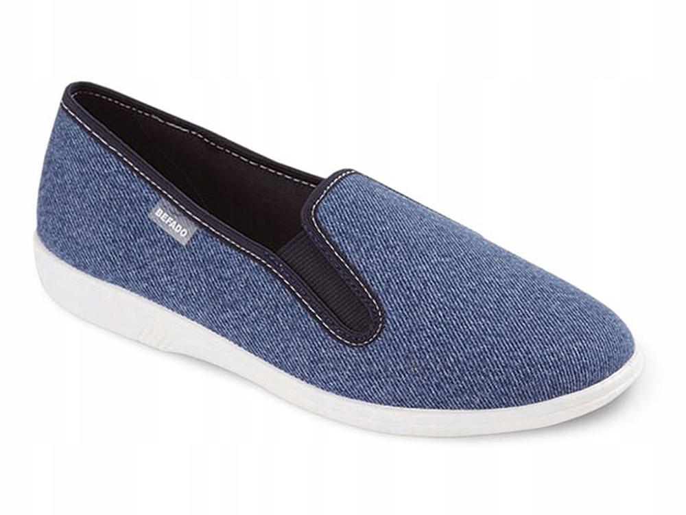 Pantofle kapcie tenisówki Befado 401 Q018 D 38