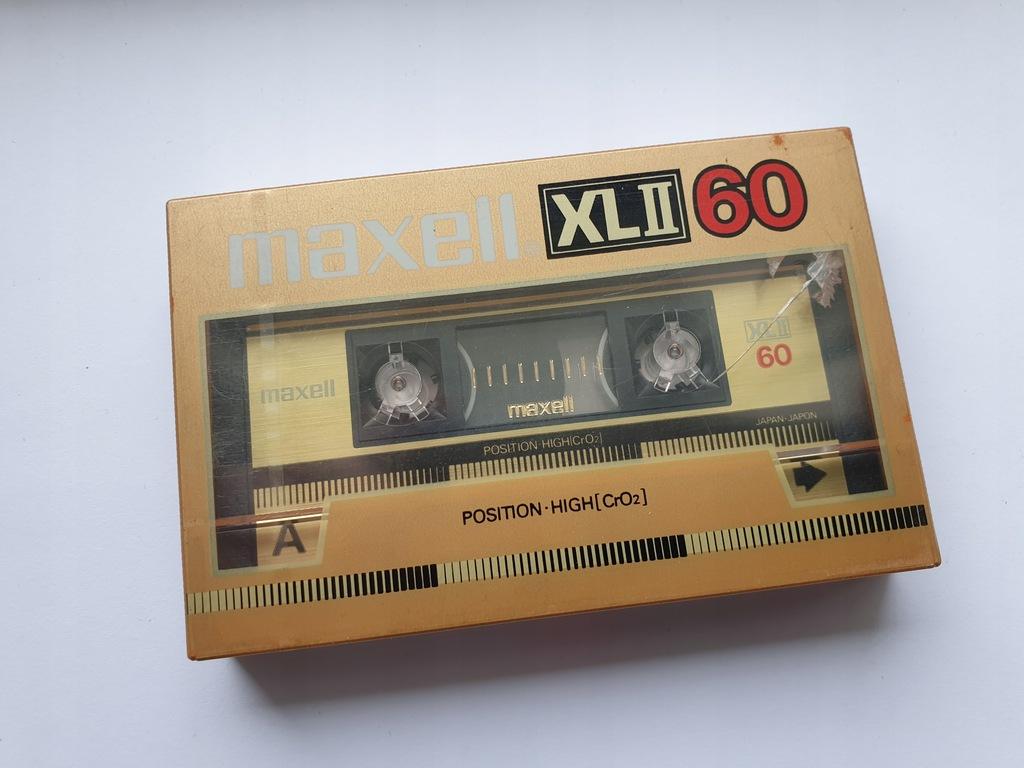 Kaseta MAXELL XL II 60 ( NOWA )