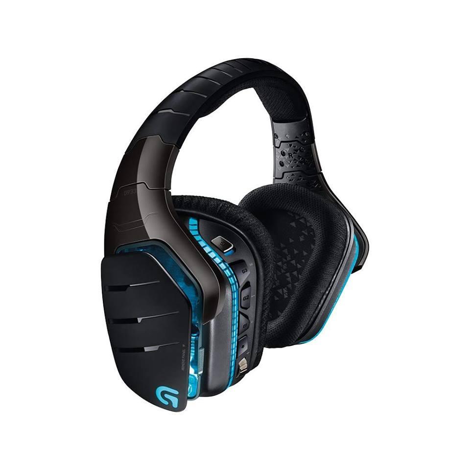 Bezprzewodowe słuchawki gamingowe Logitech G933 Ar