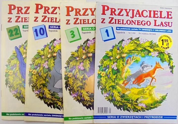 Przyjaciele Z Zielonego Lasu Nr 1 3 10 22 1999 7784686306 Oficjalne Archiwum Allegro