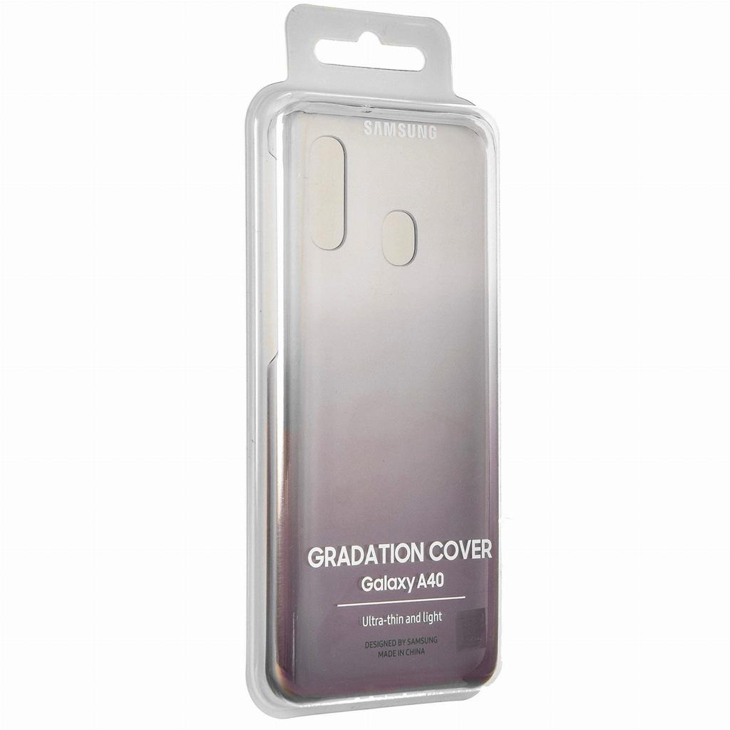 Etui Oryginalne Samsung A40 Gradation Cover