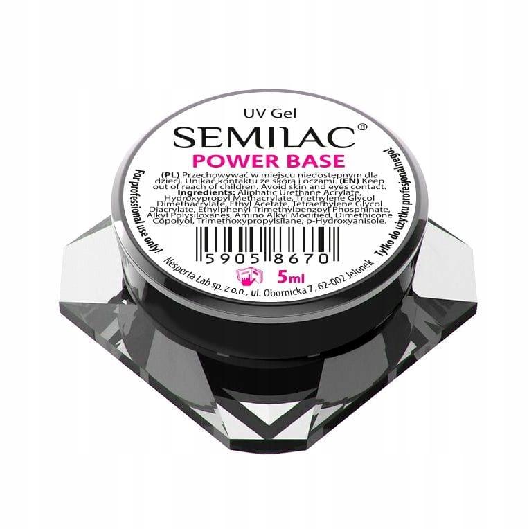 Semilac Żel bazowy UV Gel Power Base 5ml
