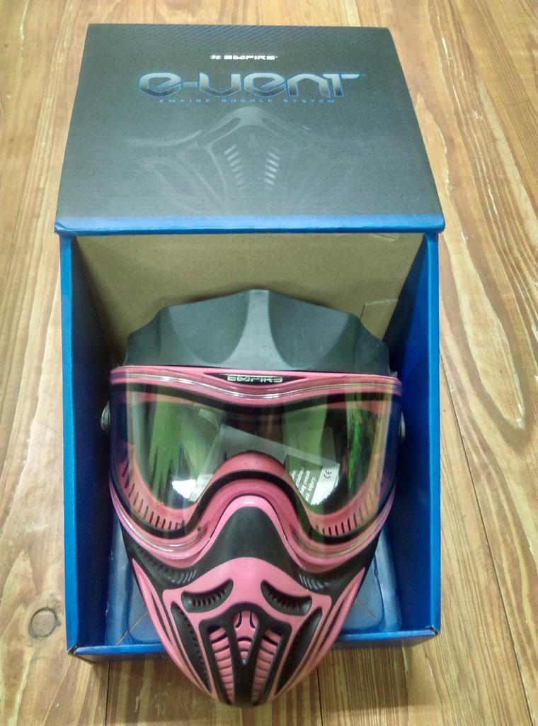 Maska Empire E-Vent Red Thermal Idealna Jakość!
