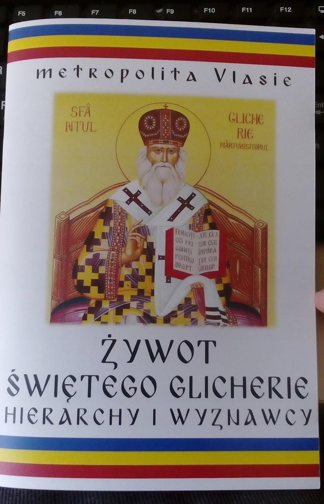 Żywot świętego Glicherie - metropolita Vlasie