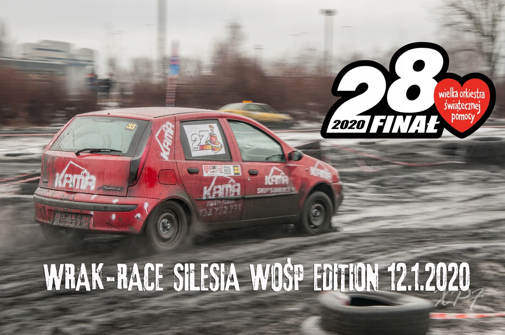 "Numer startowy ""1"" - WRAK-RACE Silesia"