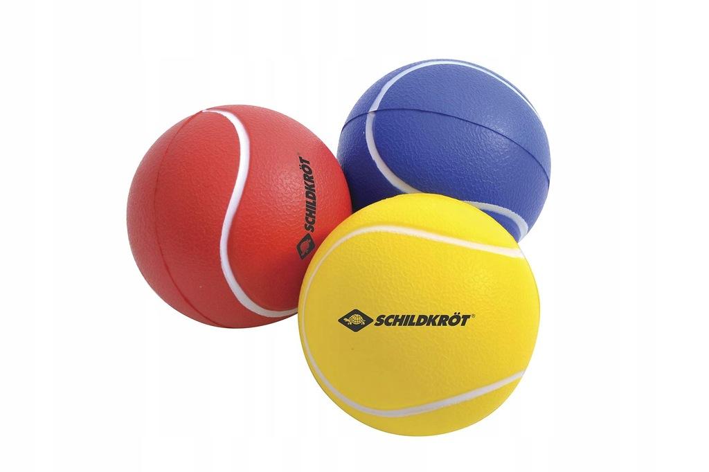 Piłka piankowa miękka Softball 2 sztuki