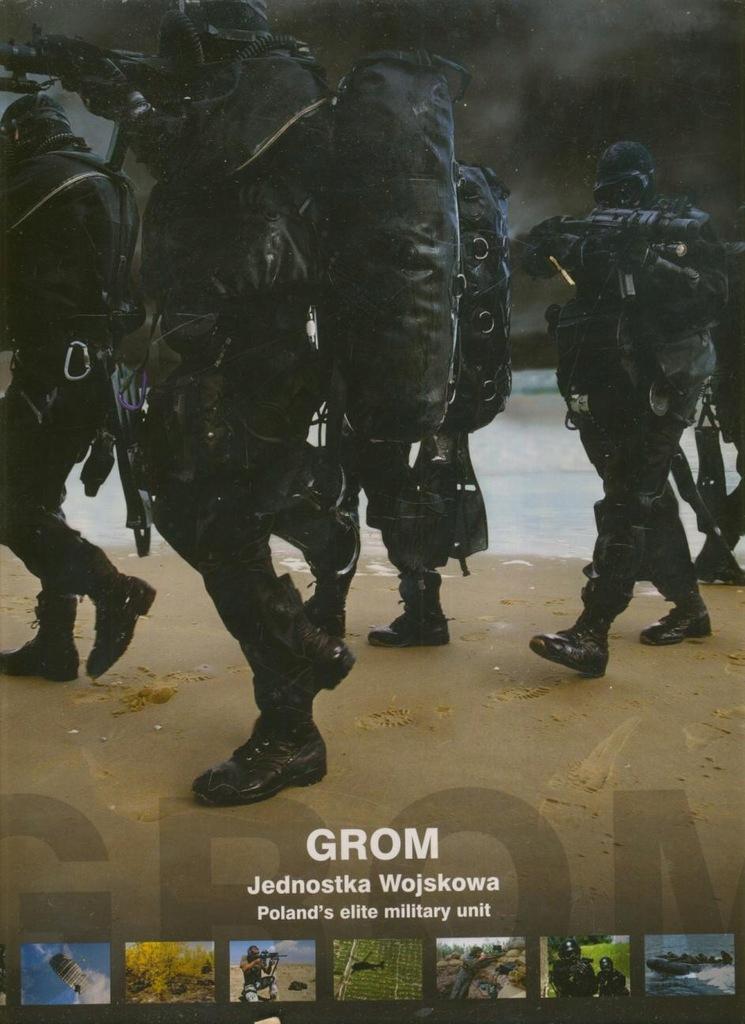 Jednostka GROM album monograficzny 2008