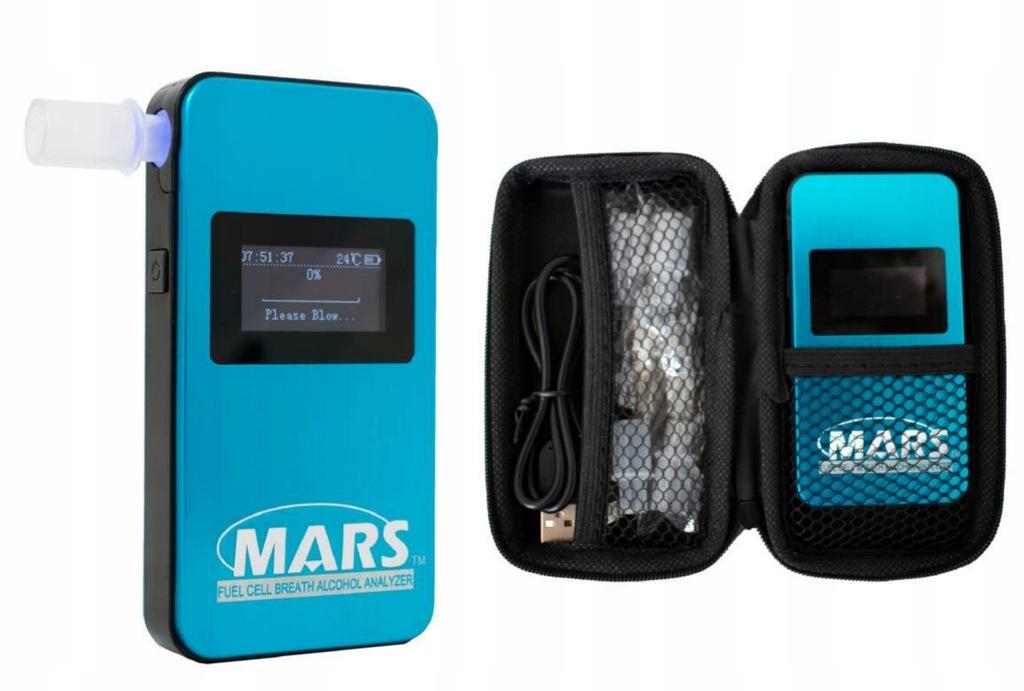 Alkomat elektrochemiczny MARS 4G + KALIBRACJE