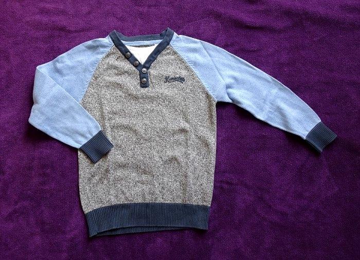 C&A Elegancki sweter chłopięcy 122