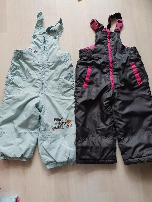 Coocodrillo spodnie na zime kombinezon 92
