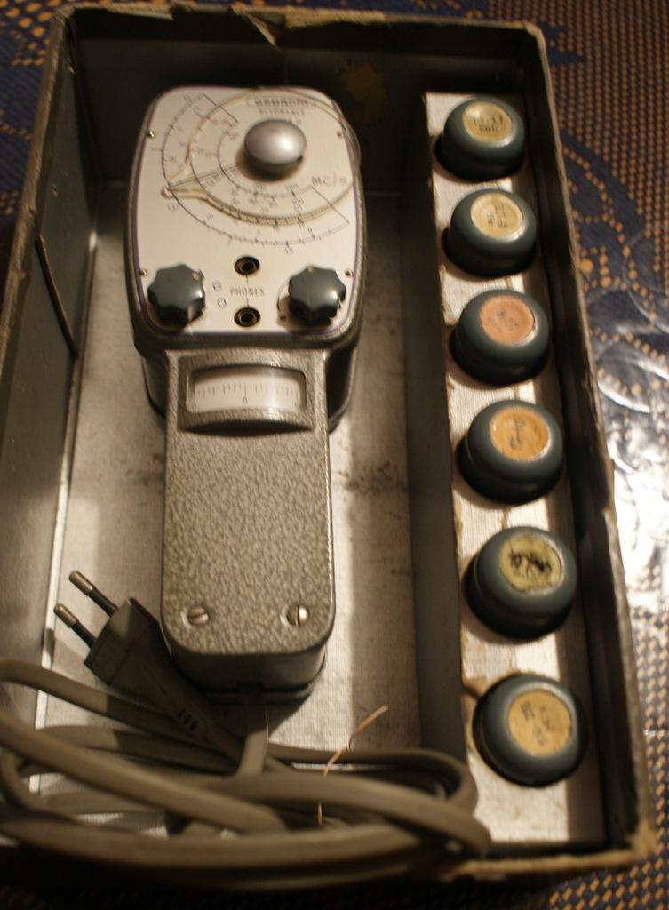 Falomierz generator - GDO Grundig Typ 701