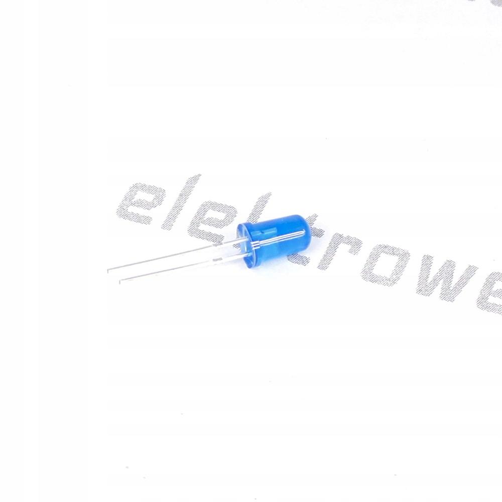 Dioda LED 5mm Niebieska (10 sztuk)
