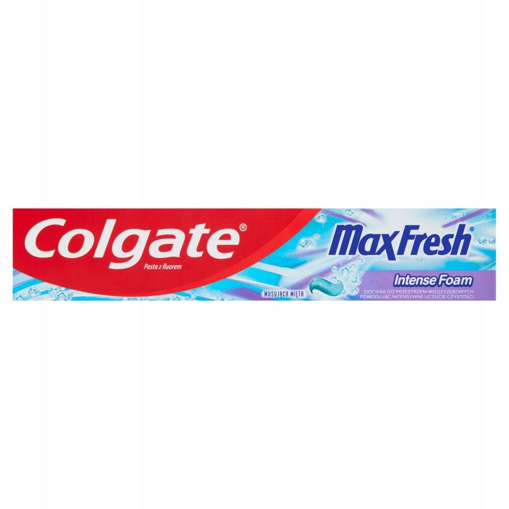 Pasta Colgate Max Fresh Intense z fluorem 125 ml