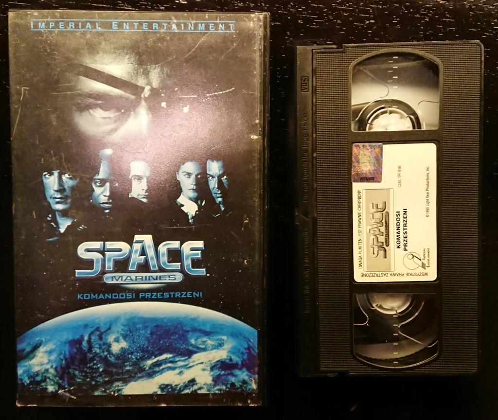 Space Marines (Komandosi Przestrzeni) 1996 | VHS