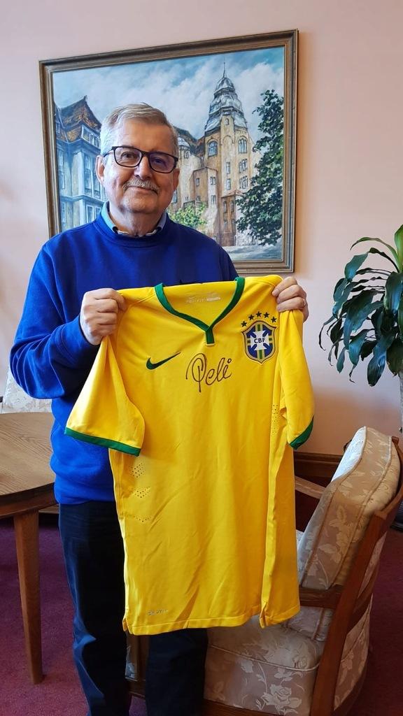 Koszulka z autografem Pelé