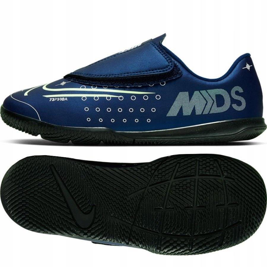 Buty Piłkarskie dziecięce Nike rzep halówki 27.5