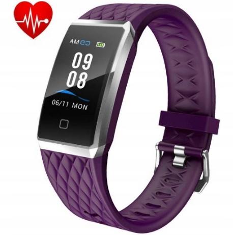Zegarek Smartwatch Willful IP68 Fioletowy opaska