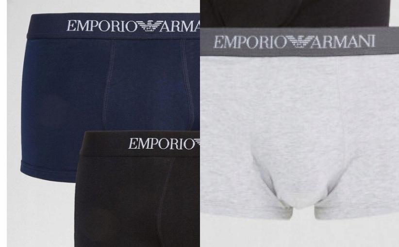 N8I501*EMPORIO ARMANI BOKSERKI MĘSKIE 36 S P00