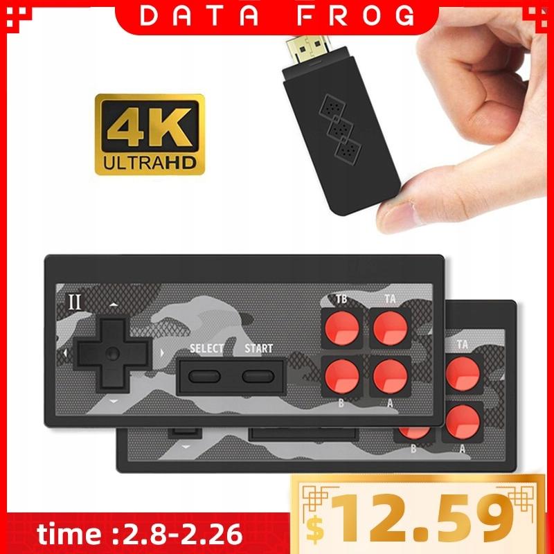 DATA FROG 4K HD gra wideo konsola wbudowana w 568