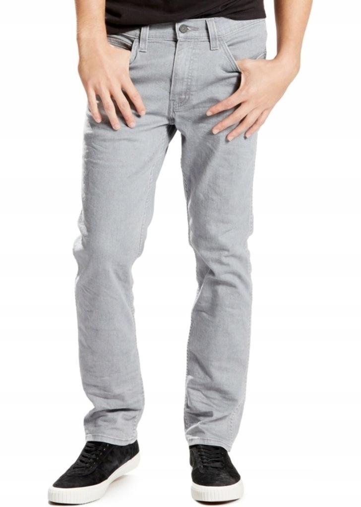 LEVI'S 511 LINE 8 jeans efekt wybielania W36 L32