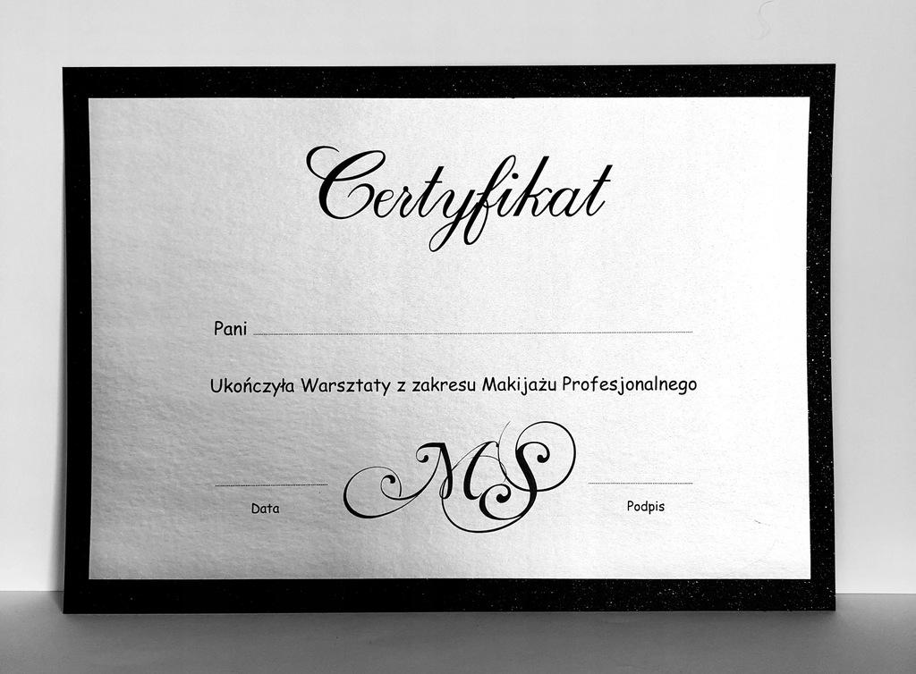 Certyfikat Bon Upominkowy Karta Podarunkowa Kop 8459536177 Oficjalne Archiwum Allegro