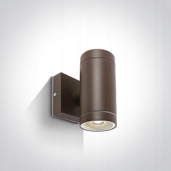 Kinkiet elewacyjny Lido II brązowy IP54