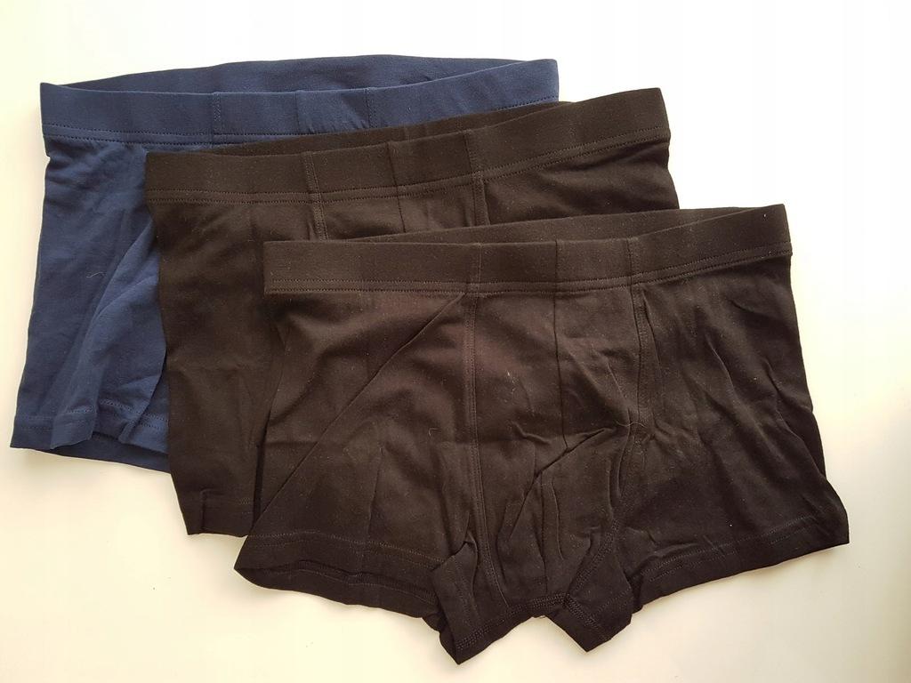 BOKSERKI majtki H&M rozm S 3 PAK D902