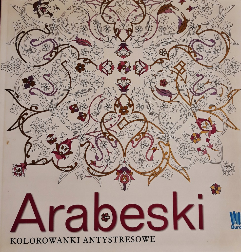 Arabeski Kolorowanki Antystresowe U 8270585065 Oficjalne Archiwum Allegro