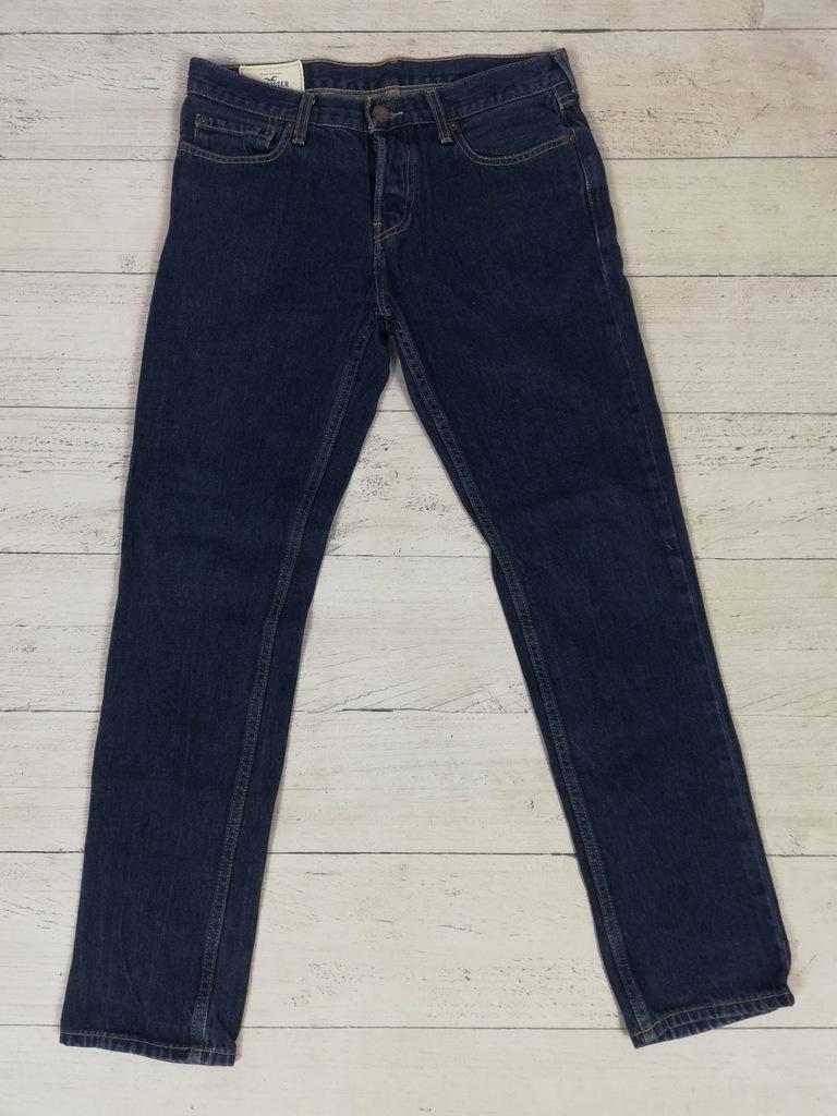 HOLLISTER_męskie spodnie jeansowe_W32 L30
