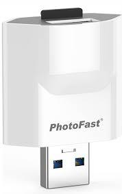 Photofast PhotoCube MicroSD kopia zapasowa Iphone