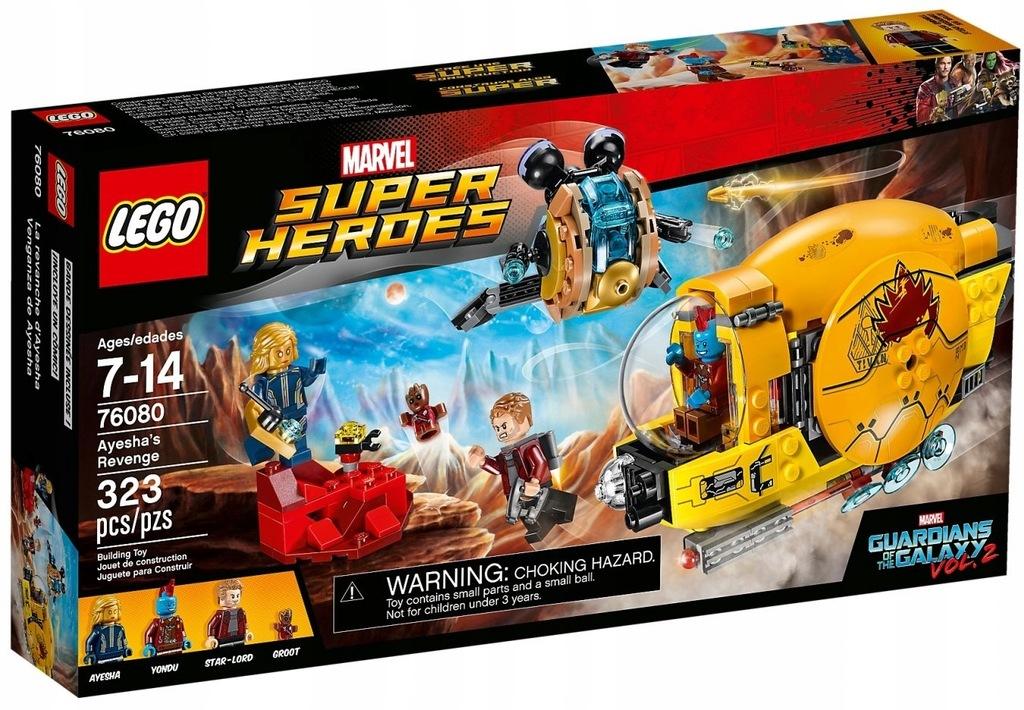 LEGO SUPER HEROES 76080 ZEMSTA AYESHY NOWY