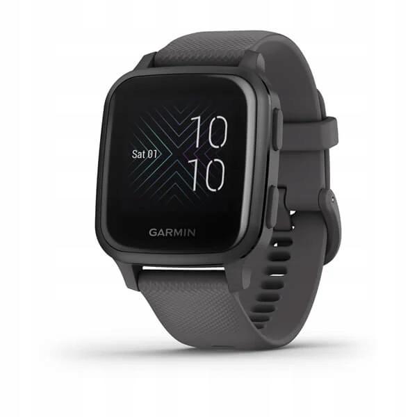 GARMIN Smartwatch Venu Sq Niebieskoszary Szary