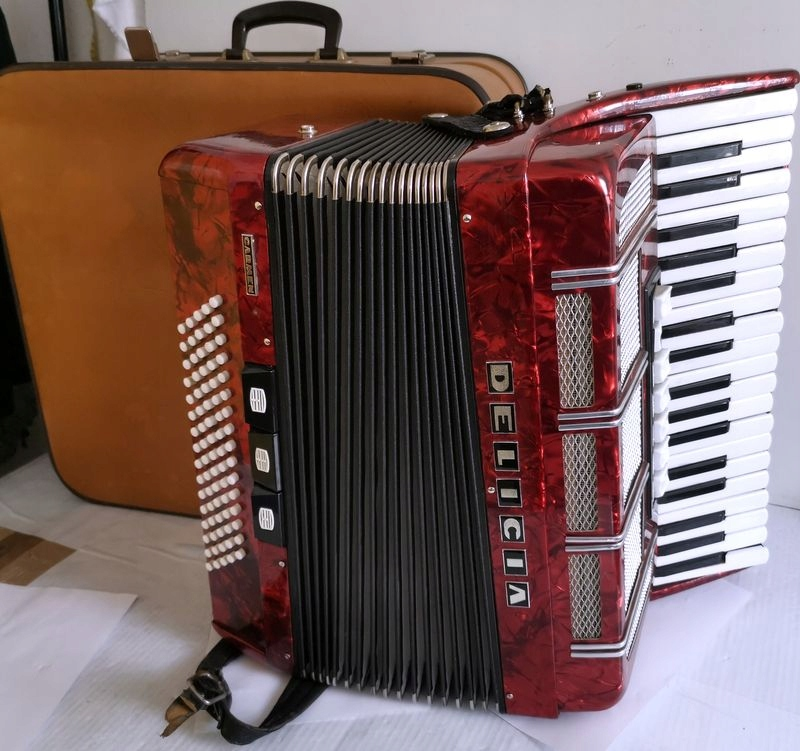 Akordeon DELICIA CARMEN XIV + futerał walizka