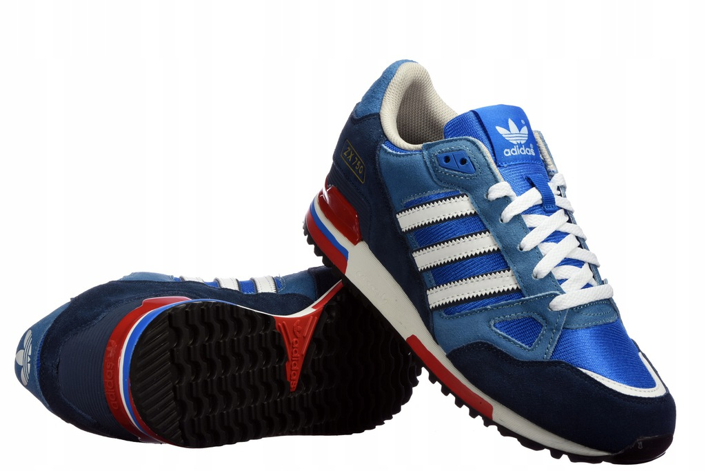 Buty M?skie Adidas ZX 750 G40159 Niebieskie r.40.5