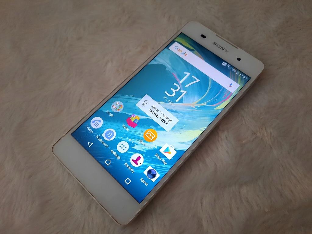 Smartfon Sony XPERIA E5 1,5 GB / 16 GB biały