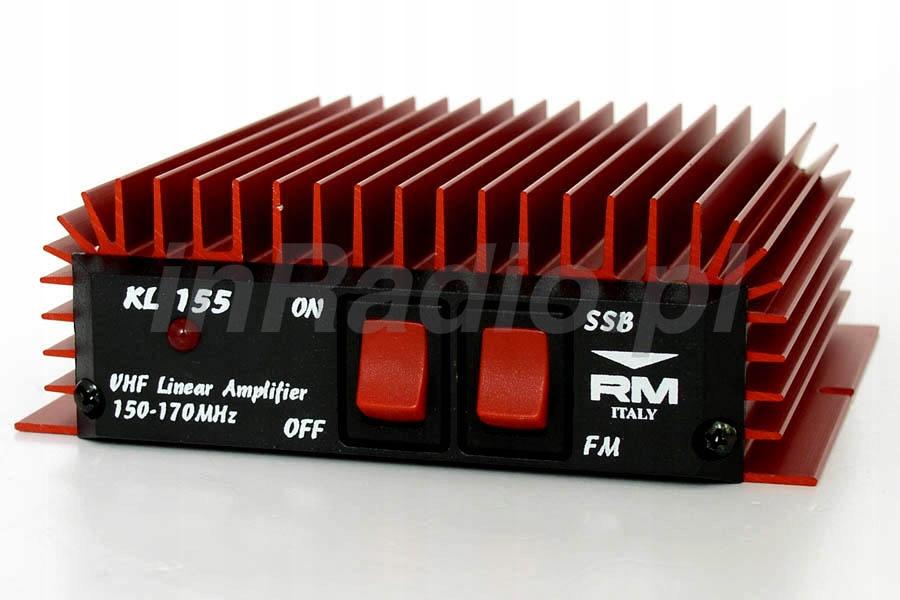 RM KL-155 WZMACNIACZ MOCY VHF 150-170MHz 50W