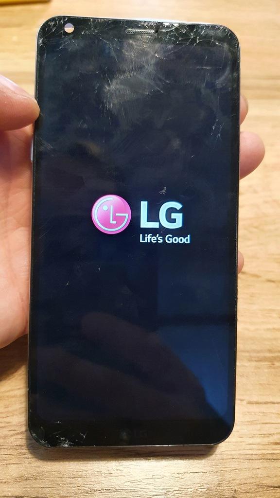 LG Q6 - M700 - LCD pęknięta szybka
