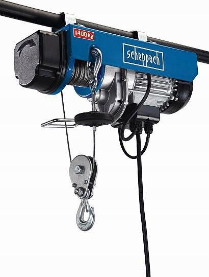 Wciągarka linowa elektryczna HRS400 Scheppach