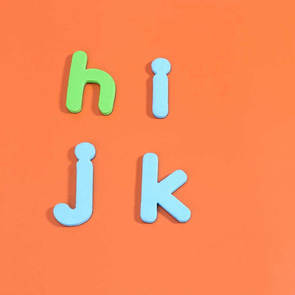 2 Sets Children Educational Alphabet Sticker Fridg