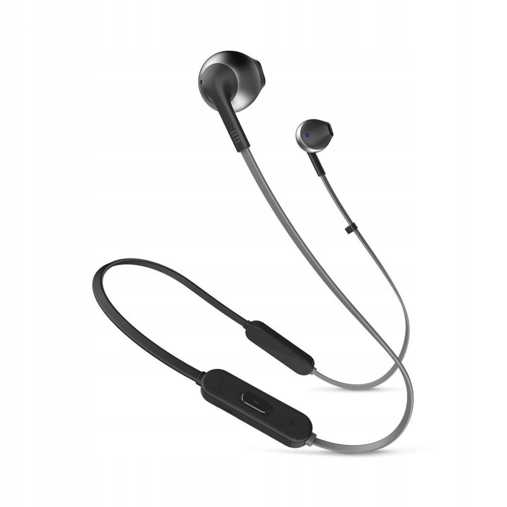 Słuchawki bezprzewodowe JBL JBLT205BT Czarne