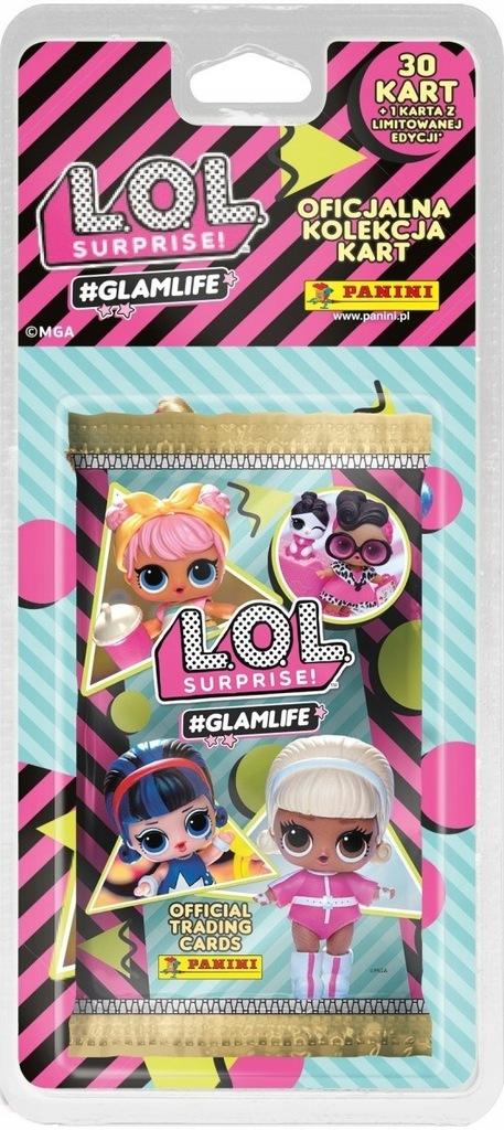 Panini Karty L.O.L. Surprise Glamlife blister 5+1