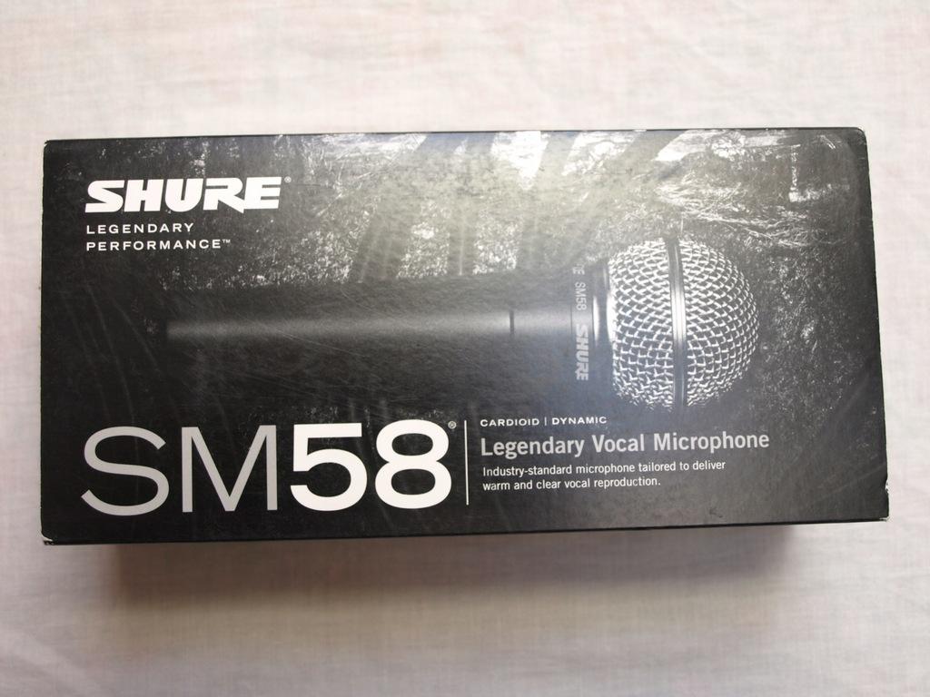 Mikrofon dynamiczny Shure SM 58